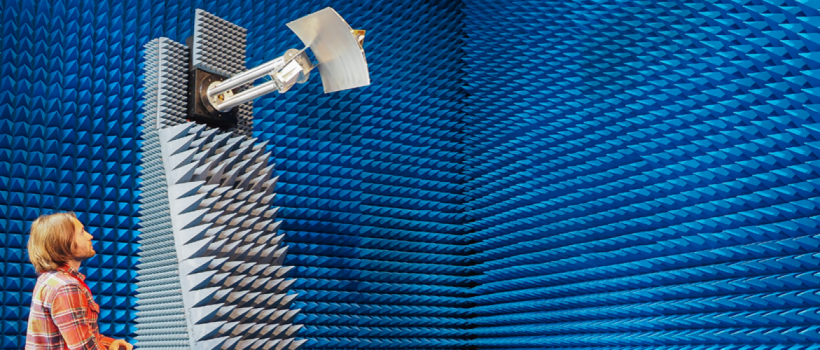 Microwave Antenna Banner (Test Chamber)
